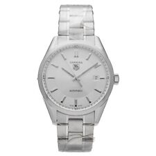 Tag Heuer Carrera WV211A-2 Silver Dial Stainless Steel 39mm Automatic Mens Watch