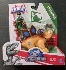 Playschool Heroes Jurassic World Park Stegosaurus & Dinosaur Man MOC