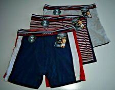 Jockey Life Men's Color Remix Cotton Stretch Boxer Briefs 2 Pack Sizes M-XL