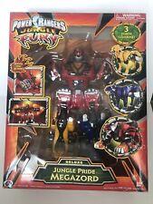 Power Rangers Jungle Fury Deluxe Pride Megazord Used & In Box 2007 Rare Bandai