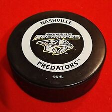 Nashville Predators - Official Game Puck - NHL - Gary Bettman Printed Signature