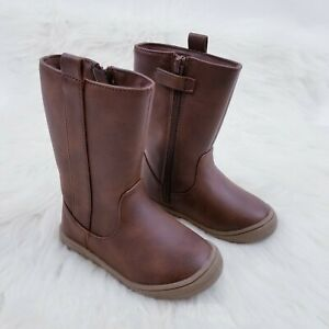 Cat & Jack Toddler Girls Boots Size 6 Brown Fashion Boots Orabel