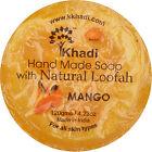 Khadi Herbal Hand Made Soap & Loofah Mango 120 GM