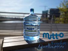 Mutto Premium BIO Quellwasser 18,9 Liter Flasche für Wasserspender