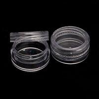 50pcs 3/5g Sample Bottle Cosmetic Makeup Jar Pot Face Cream Lip Balm Container