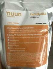 Nuun Endurance Citrus Mango (5 gallon pouches)-BRAND NEW! Free shipping! 70%OFF!