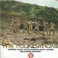"THE FOUNDATIONS 7""PS Spain 1969 Born to live, born to die"