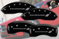 "2001-2006 ""Dodge //"" Stratus Front + Rear Black MGP Brake Disc Caliper Covers"