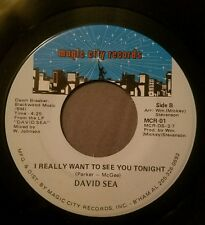 David Sea 45 I Really Want to See You Tonight / I'm in the Mood Magic City exc