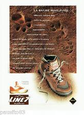 PUBLICITE ADVERTISING 125  1996  GORE-TEX  chaussures marche LINE 7 NATURE