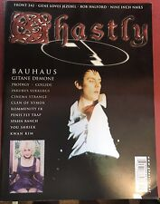Ghastly Magazine Issue #9 UK Goth Rock Industrial Bauhaus Front 242 NIN Prodigy