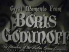 16mm  Boris Godunoff Castle Films Opera 400'