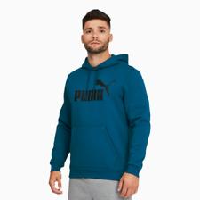 Puma Essentials + Men's Big Logo Hoodie Pullover Sweatshirt Casual Clothing