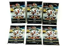 2015 Topps Fire NFL Football Factory Sealed Pack Lot of (6) Packs