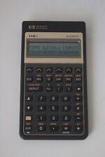Hewlett Packard HP 17B II Business Taschenrechner Finanztaschenrechner