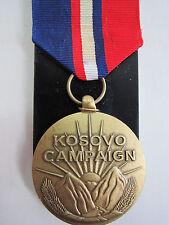 U.S.  Kosovo Campaign Service Medal 1999-Present Issue