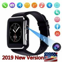 SmartWatch X6 Bluetooth Uhr Android Samsung Galaxy S7 EDGE SIM Smart Watch /rr