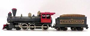 TYCO HO 4-6-0 Petticoat Junction Hooterville Cannonball Loco & Green Tender (4)1