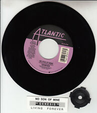 "GENESIS No Son Of Mine PHIL COLLINS 7"" 45 rpm record RARE! + jukebox title strip"