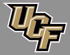 "UCF Knights Primary Wordmark Logo 6"" Vinyl Decal Bumper Sticker - NCAA Football"