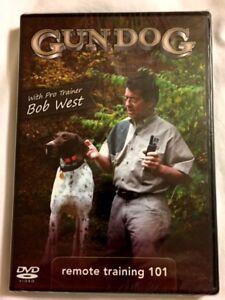 Brand New DVD ~ ~  Gun Dog Training ~ ~ Remote Training 101 ~ ~ NEW DVD
