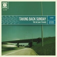 TAKING BACK SUNDAY - TELL ALL YOUR FRIENDS NEW VINYL RECORD