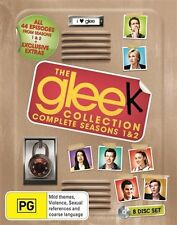 Glee Series Season 1 & 2 + Limited Tin Locker : NEW Blu-Ray