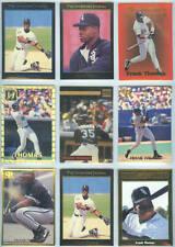 FRANK THOMAS ~ Lot of (18) Different Rare Oddball Baseball Trading Cards