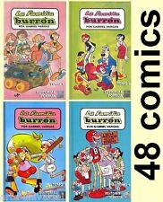 FAMILIA BURRON MEXICAN 4 BOOKS *48 COMICS COLLECTION* - MEMIN PINGUIN similar