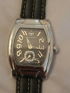 Technomarine Model TS3-5301 Rare Swiss Made Tonneau Case Special Model