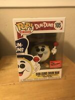 *2020 NYCC OFFICIAL CON STICKER* FUNKO POP AD ICONS DUMS-DUMS DRUM MAN *IN HAND*