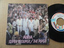 "DISQUE 45T DE ABBA  "" SUPER TROUPER """