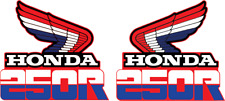 Honda xr250 1985 left and right tank decal