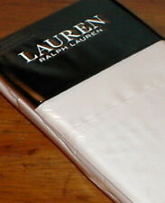 RALPH LAUREN DUNHAM PINK CHAMPAGNE 300TC COTTON KING PILLOWCASES