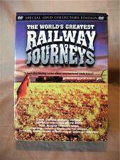 The World's Greatest Railway Journeys; 4 DVD Set; China Australia Peru Tunisia