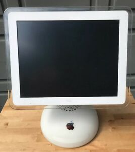 "Apple Macintosh iMac G4 M6498 800 MHz 512 MB 80 GB HD DVD-CDRW 15"" LCD Mac OS X"