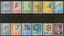 [ABC-06b] – Lesotho – 1967  -  Ordinaria   12 val.      **  MNH