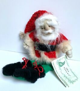 "15"" NISSEN DOLL By Thelma Paulson JUL NISSEN CHRISTMAS NISSEN HANDCRAFTED COA"