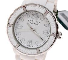 Mondia College 929 orologio donna ref.9-024-01 bianco new