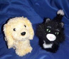 """American Girl Doll HONEY Golden Dog & LICORICE Black Cat 5"""" Hard Body Retired"""