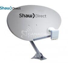 "Shaw Direct 75E (37"") Satellite Dish w/ xKu Quad LNB"