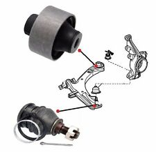 FOR HONDA STEP WAGON 2.0i FRONT LH OR RH WISHBONE REAR BUSH AND BALL JOINT 05-09