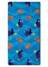90 X 200 Cm Spannbettlaken Kinder Bettlaken Baumwolle Disney Dory Nemo