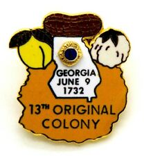 Pin Spilla Lions International Georgia June 9, 1732 13th Original Colony