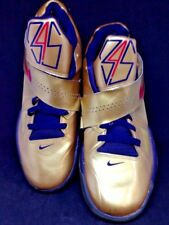 Nike Zoom KD IV Olympic Gold Kevin Durant signature shoes, women's size 8