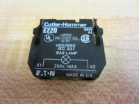 Cutler Hammer E22D Eaton Lamp Contact W/O Lamp
