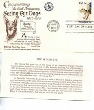 US FDC #1787 Seeing Eye Dogs, 1st Cachet Seeing Eye Inc (7227)
