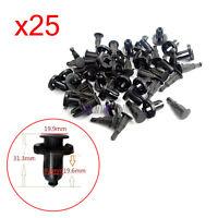 25 Pcs Front Rear Bumper Clip Retainer Fastener 91503SZ5003 For HONDA MITSUBISH