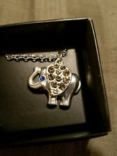 - Avon New in Box Beautiful Elephant Good Luck Necklace