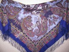 Women's scarves Pure Woolen Shawl Natural Pavlovo Posad Ladies 1344-13 Favorite